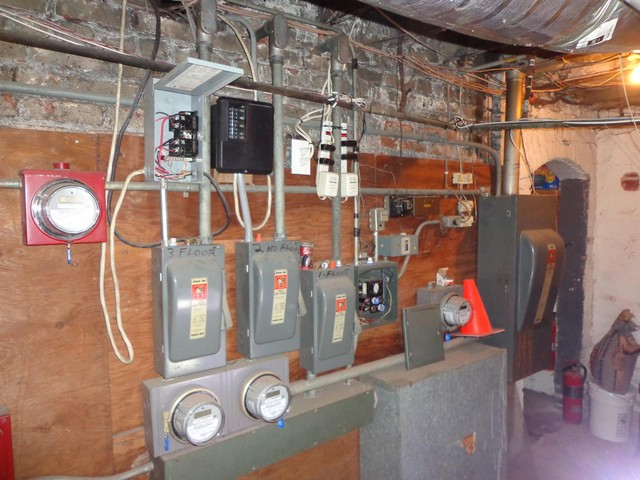 Improper installed main/sub electrical panels.